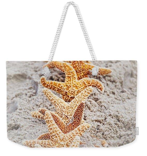 The Starfish Line Dance Weekender Tote Bag