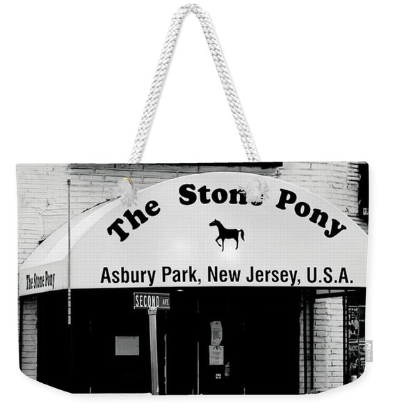 The Stone Pony Asbury Park Nj Weekender Tote Bag