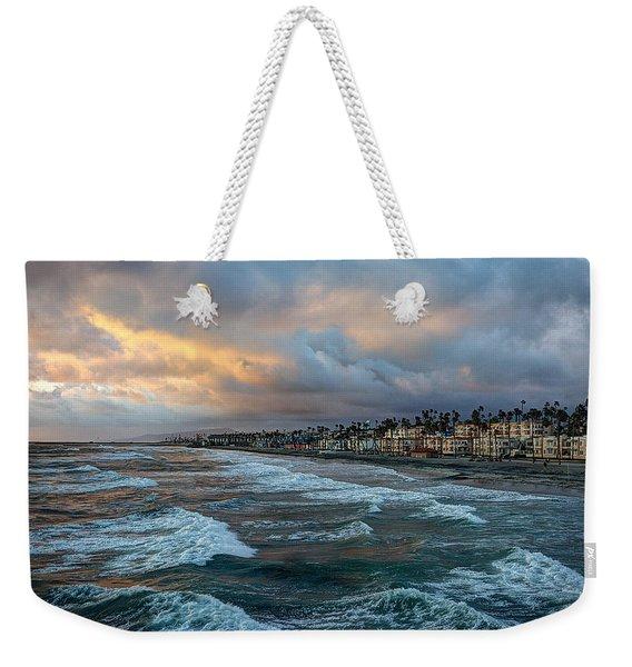 The Storm Clouds Roll In Weekender Tote Bag