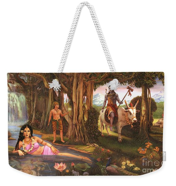 The Story Of Ganesha Weekender Tote Bag