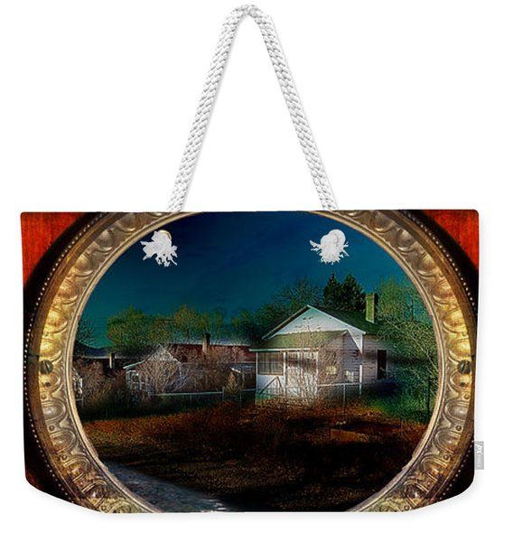 The Street On The River Weekender Tote Bag