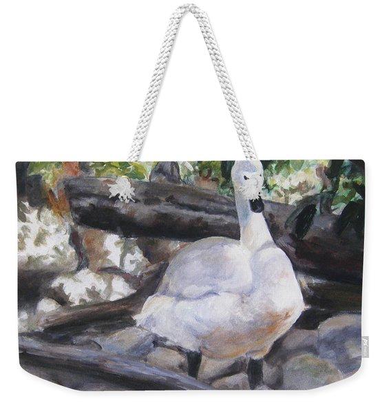 The Swan Weekender Tote Bag