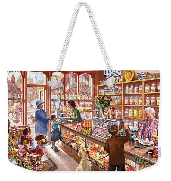 The Sweetshop Weekender Tote Bag