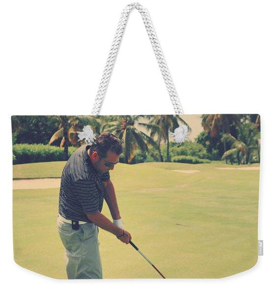 The Swing Of Things Weekender Tote Bag