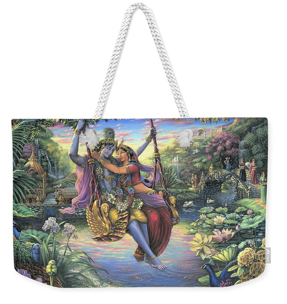 The Swing Pastime Weekender Tote Bag