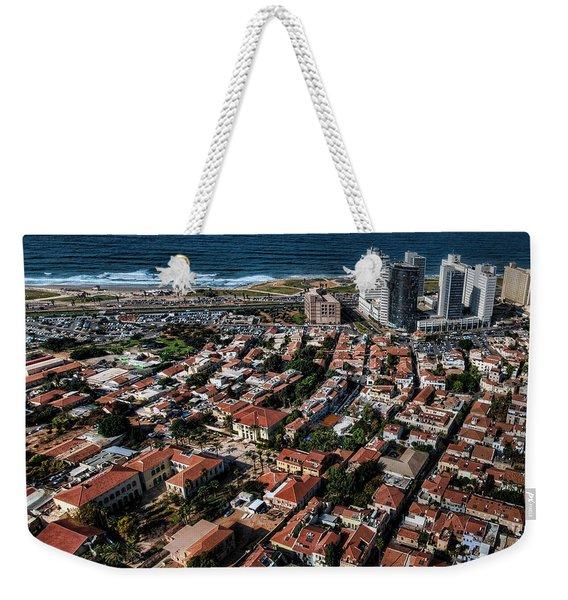 the Tel Aviv charm Weekender Tote Bag