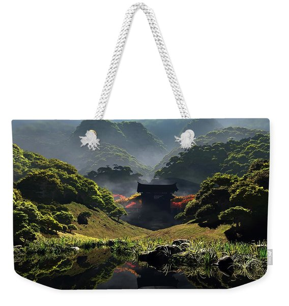The Temple Of Perpetual Autumn Weekender Tote Bag