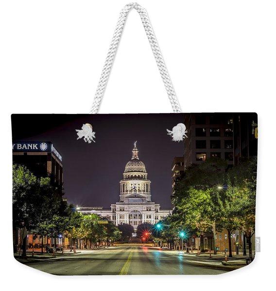 The Texas Capitol Building Weekender Tote Bag