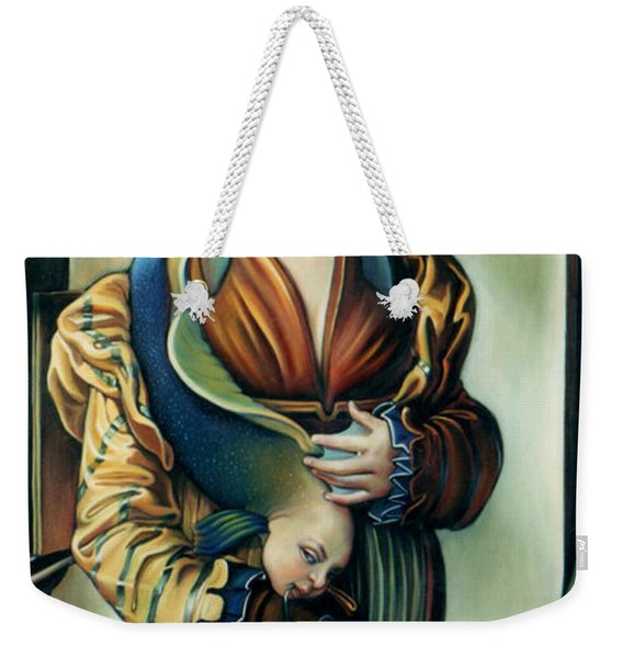 The Third Deadly Fin Weekender Tote Bag