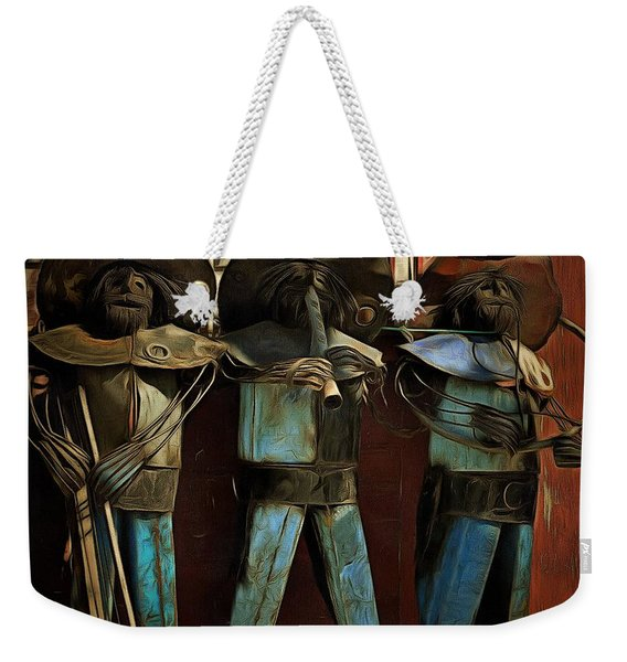 The Three Amigos - In The Shadows Weekender Tote Bag