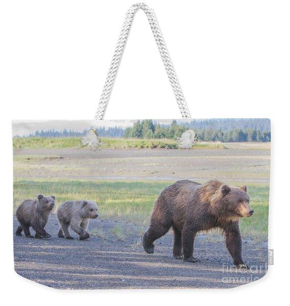 The Three Bears Weekender Tote Bag