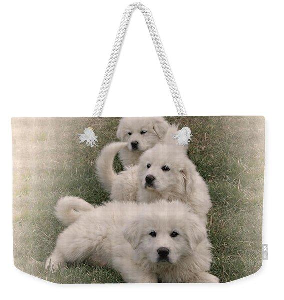 The Three Weekender Tote Bag