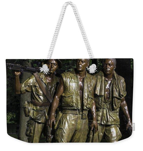 The Three Soldiers Weekender Tote Bag