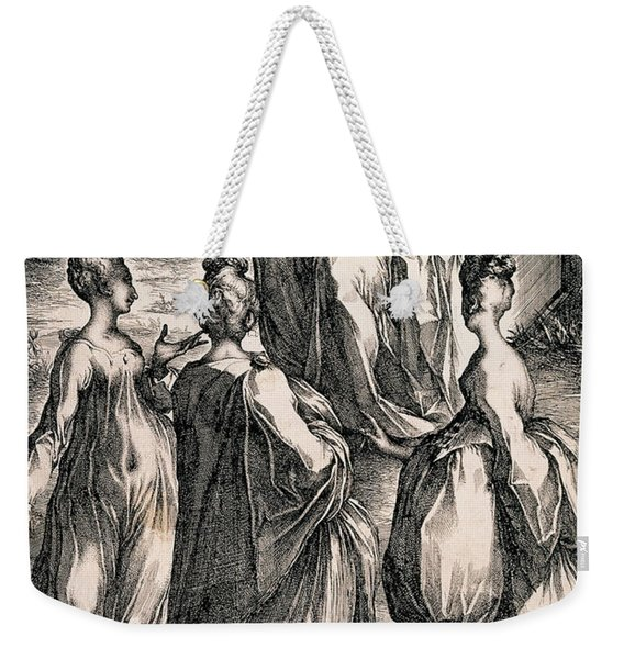 The Three Women At The Tomb Weekender Tote Bag
