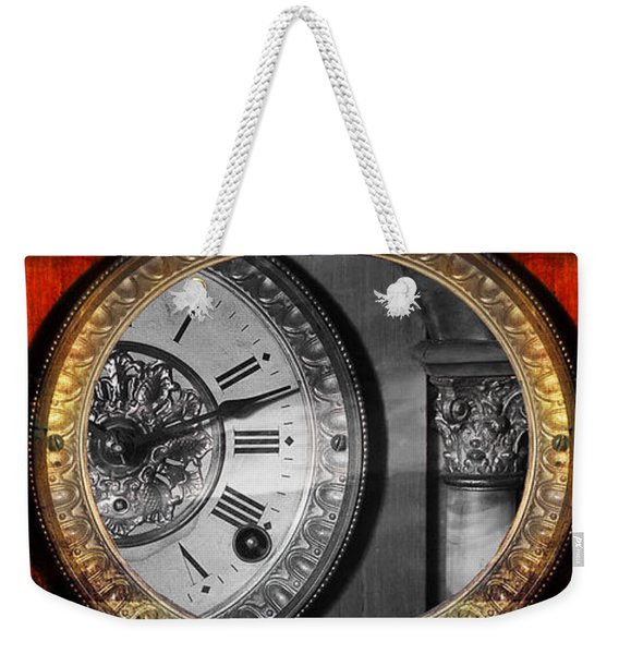 The Time Machine Weekender Tote Bag