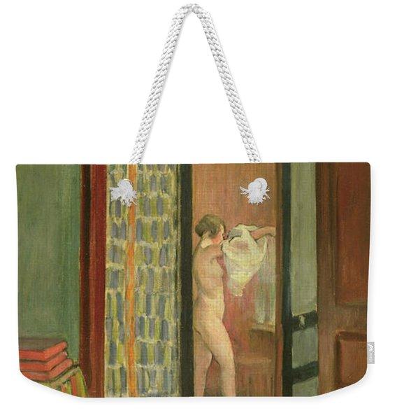 The Toilet Weekender Tote Bag