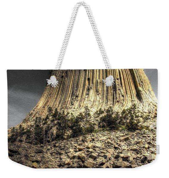The Tower Of Boulders Weekender Tote Bag