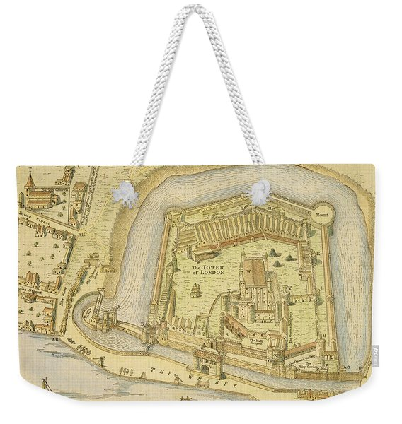 The Tower Of London, From A Survey Made Weekender Tote Bag
