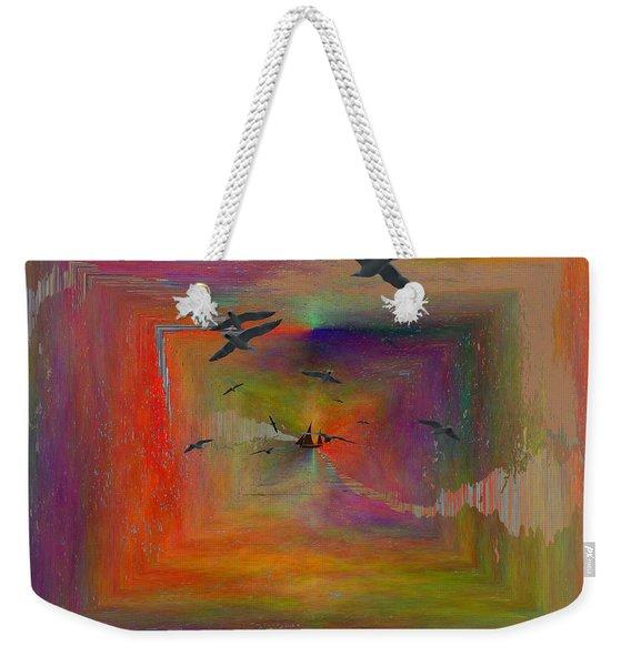 The Tributaries Weekender Tote Bag