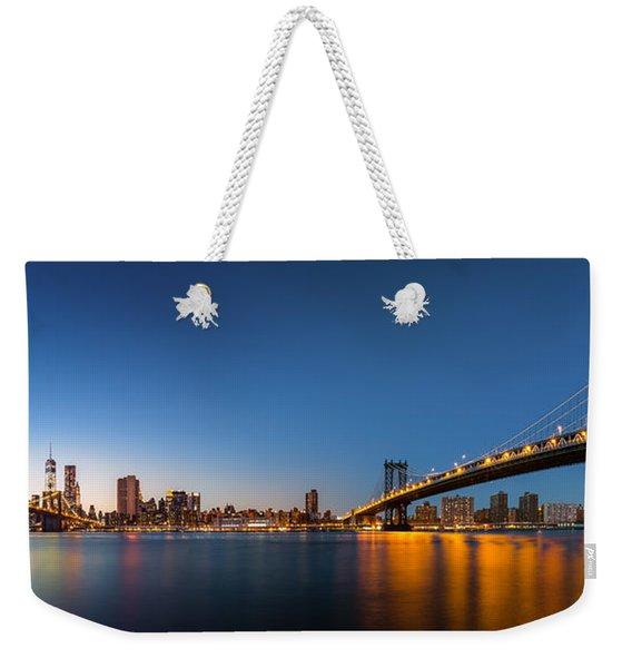 The Two Bridges Weekender Tote Bag