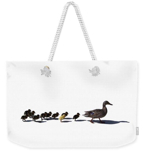 The Ugly Duckling  Weekender Tote Bag