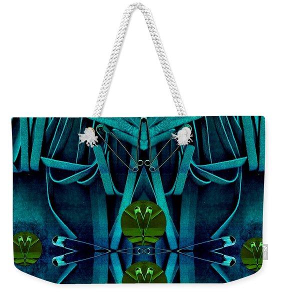 The Under Water Temple Weekender Tote Bag