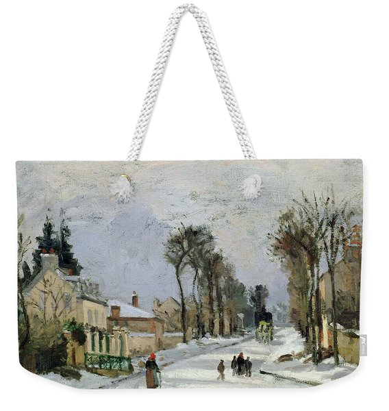 The Versailles Road At Louveciennes Weekender Tote Bag