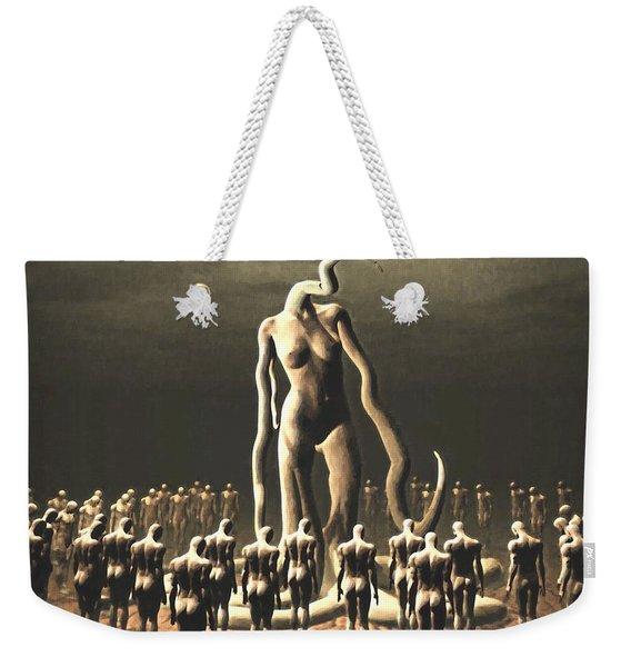 The Vile Goddess Weekender Tote Bag
