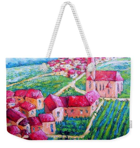 The Village Weekender Tote Bag