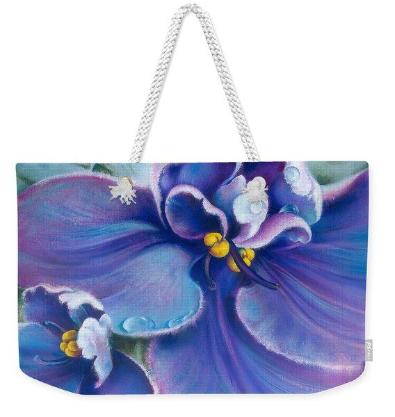 The Violet Weekender Tote Bag