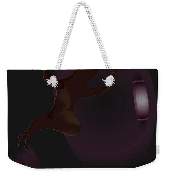 The Violet Void Weekender Tote Bag