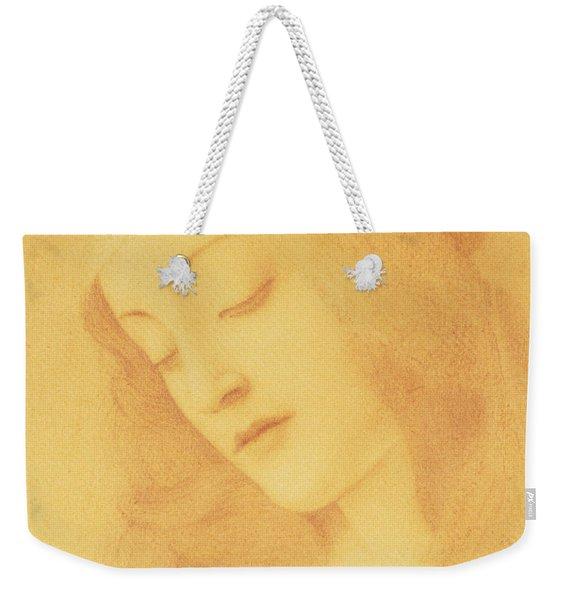 The Virgin After Botticelli Weekender Tote Bag