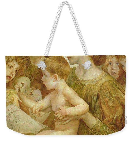 The Virgin Of The Angels Weekender Tote Bag