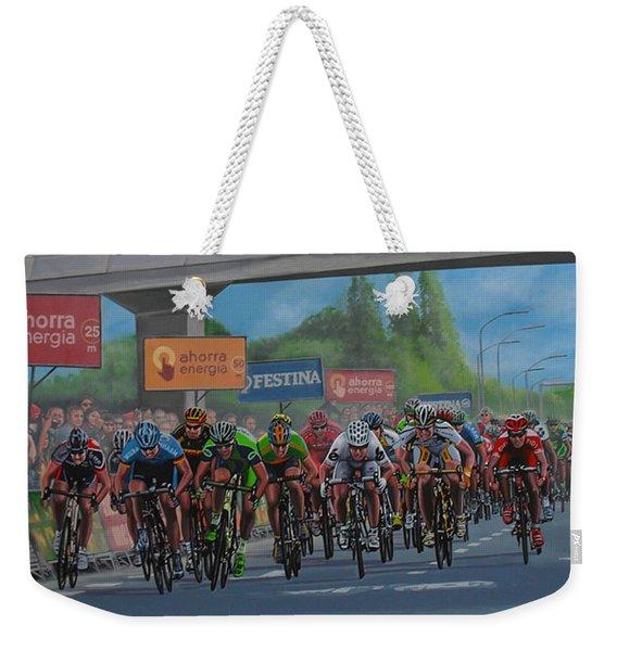 The Vuelta Weekender Tote Bag