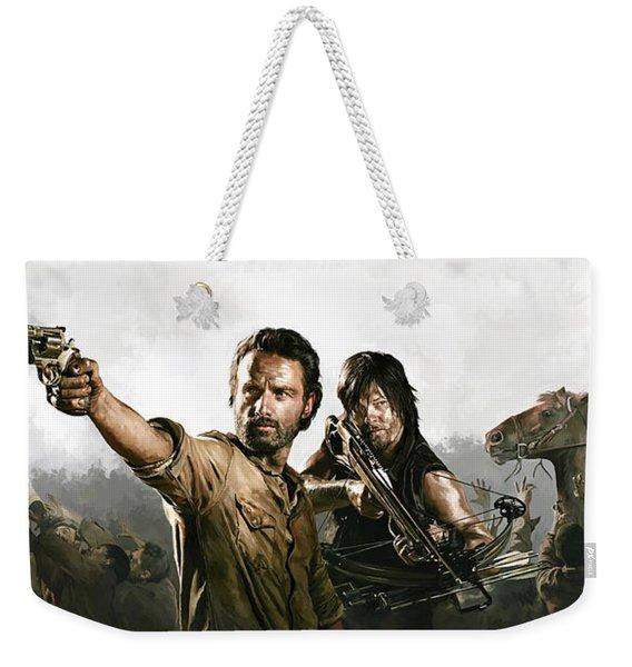 The Walking Dead Artwork 1 Weekender Tote Bag
