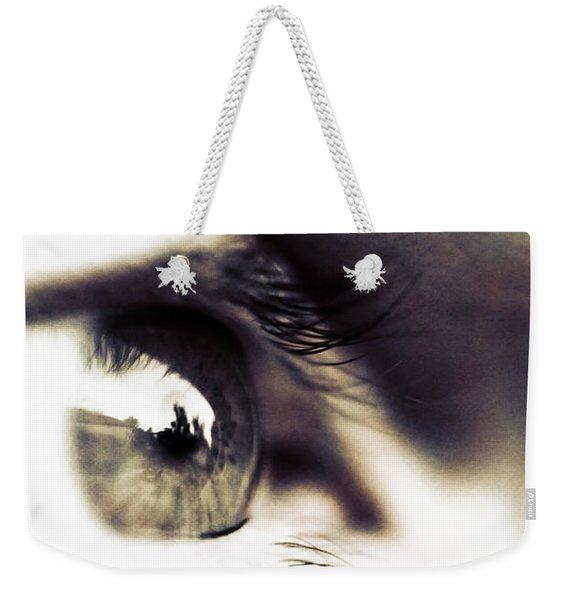 The Watcher Weekender Tote Bag