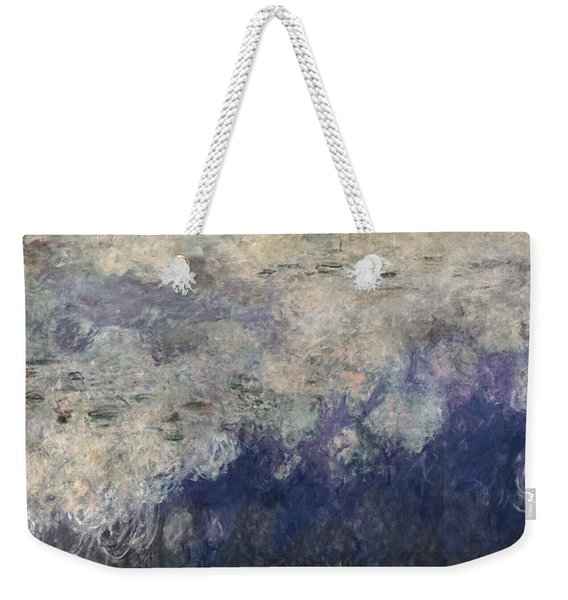 The Waterlilies - The Clouds Central Section 1915-26 Oil On Canvas See Also 64184 & 64186 Weekender Tote Bag