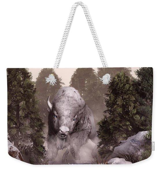 The White Buffalo Weekender Tote Bag