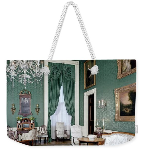 The White House Green Room Weekender Tote Bag