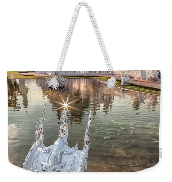 The White Temple Weekender Tote Bag