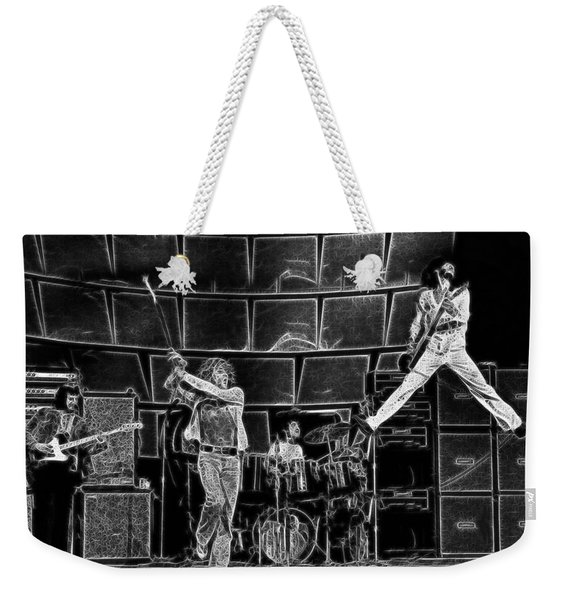 The Who - A Pencil Study - Designed By Doc Braham Weekender Tote Bag