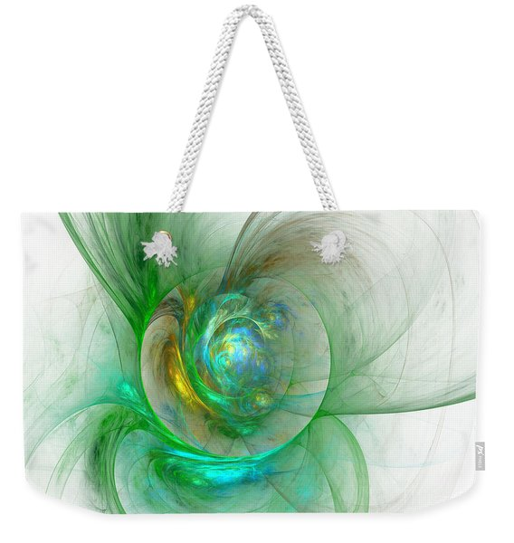 The Whole World In A Small Flower Weekender Tote Bag