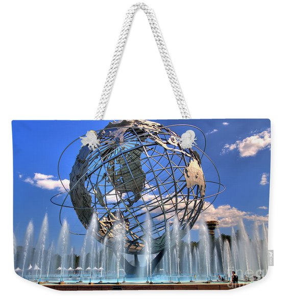 The Whole World In My Hands Weekender Tote Bag