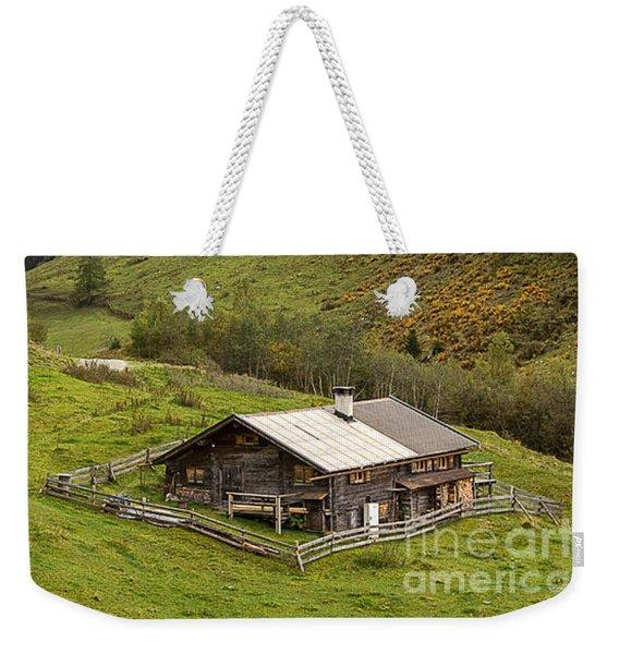 The Wimmertal In Tirol Weekender Tote Bag