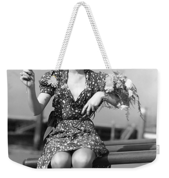 The Woman With Carnations Weekender Tote Bag