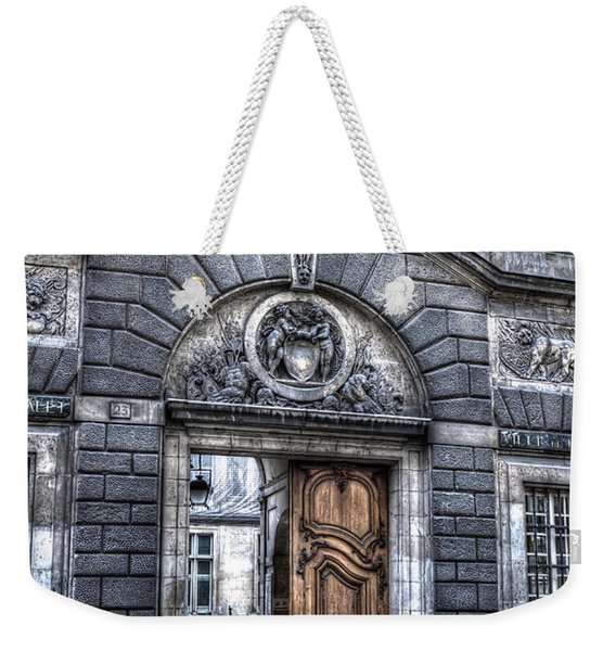 The Wooden Door Weekender Tote Bag