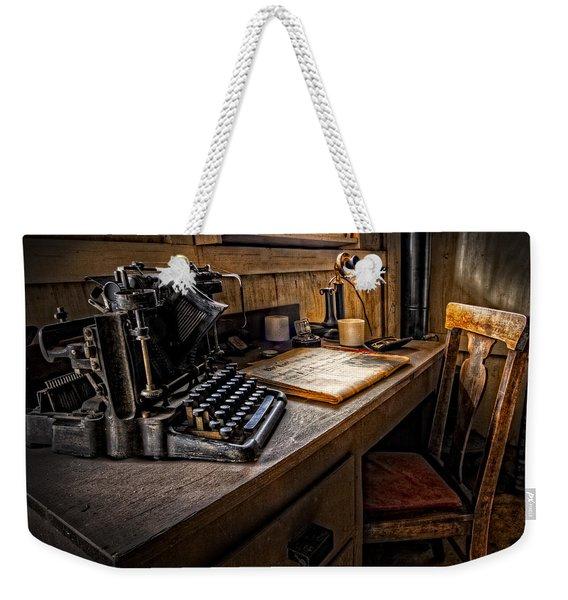 The Writer's Desk Weekender Tote Bag