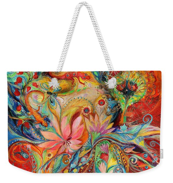 The Zodiac Signs Weekender Tote Bag