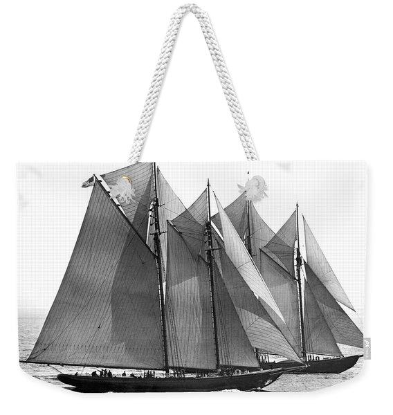 Thebaud Passes Bluenose Weekender Tote Bag