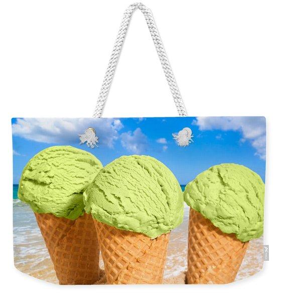 Thee Minty Icecreams Weekender Tote Bag